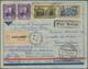 Zeppelinpost Europa: 1932, 1. Südamerikafahrt: Reco-Erstpost-Zuleitung über Friedrichshafen Nach Per - Andere-Europa