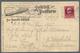 """Bayern - Besonderheiten: 1919, Zeppelin """"Bodensee""""-Post Mit Bordstempel Vom 12. SEP. 1919 Auf Ansich - Bavière"""