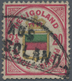 Helgoland - Marken Und Briefe: 1876, 2½P/20 Pf, Lilakarmin/gelb/blaugrün, Gezähnt, Farbfrisch, Kl. M - Heligoland