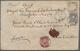 Deutsches Reich - Brustschild: 1872 Großer Schild 5 Gr. Als Währungs-Mischfrankatur Mit 10 Pfennige+ - Brieven En Documenten