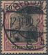 """Deutsches Reich - Germania: 1900, 50 Pfg. Germania Reichspost Gebraucht Mit Sogenannter """"fetter Insc - Duitsland"""