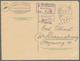 "Deutsche Lokalausgaben Ab 1945 - Ganzsachen: ""WEIXDORF"" 1946: Postkarten-Formblatt Mit Viol. Ra3 ""P. - Duitsland"
