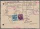 """Sowjetische Zone - Allgemeine Ausgaben: 1948, 20 Pfg. Und 6 Pfg. Maschinenaufdruck Mit Stempel """"MEUS - Zone Soviétique"""