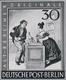 """Berlin: 1950er. Lot Von 3 S/w-Foto-Essays Für Eine Briefmarkenserie """"Alt-Berliner Originale"""" Mit Ver - [5] Berlin"""