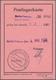 Berlin: 1960, 4.5., 2 X 50 Pf. Stadtbilder Als Portogerechte Mehrfachfrankatur Auf Postlagerkarte Mi - [5] Berlijn