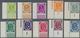 Bundesrepublik Deutschland: 1951, Posthorn, Kompletter Satz Aus Den Linken Unteren Bogenecken, Postf - [7] République Fédérale
