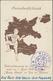 """Ansichtskarten: Propaganda: 1936 Brasilien, Postkarte """"Grossdeutschland - Volksabstimmung Für Die Re - Partis Politiques & élections"""