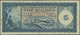 Curacao: De Curacaosche Bank Lot With 3 Banknotes 5 Gulden 1954 (F-), 1958 (F- With Tear) And 1960 ( - Autres - Amérique