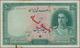 "Iran: Bank Melli Iran, 50 Rials ND (1944), P.42s, Specimen With Overprint ""Specimen"" And Serial Numb - Iran"