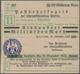 Deutschland - Reichsbahn / Reichspost: Stettin, Pommern, Oberpostdirektion, Scheckformular Des Posts - Non Classés