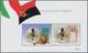 Angola: 2002, ANGOLAN-ITALIAN FRIENDSHIP (LION), Investment Lot Of More Than 1000 Souvenir Sheets MN - Angola