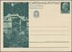 """Italien - Ganzsachen: 1932: """"Opere Del Regime"""", 15c+15c Green Pictorial Reply Cards, Mint In Very Fi - 1946-.. République"""