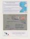 Tschechoslowakei: 1933/1939, AIR FRANCE/DEUTSCHE LUFTHANSA AIRMAIL TO SOUTH AMERICA, 19 Airmail Cove - Tchécoslovaquie