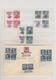 Deutsche Besetzung II. WK: 1938/1944, Zusammenstellung Im Steckbuch, Dabei Sudetenland Mit Erinnerun - Bezetting 1938-45