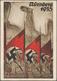 Ansichtskarten: Propaganda: 1934/1938, REICHSPARTEITAG NÜRNBERG, Kleine Konvolut Mit 12 Großformatig - Partis Politiques & élections
