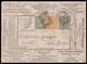 Cover ) REGNO D'ITALIA 1877 (6 Giu.) | Busta Parlante, Serie 30a, 5c. Verde Grigio, Tiratura Di Torino, Da - 1878-00 Humbert I
