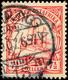 TANGA 27/8 07, Doppelentwertung Mit Ankunftsstempel (LEI)PZIG (?) 9.07 Auf 7½ H. Schiffszeichnung, Katalog: 32 O - Colony: German East Africa