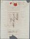 """Österreichische Post In Der Levante: 1832, Faltbrief Mit Seltenem L2 """"Geräuchert Vom Contunam Amte Z - Oriente Austriaco"""