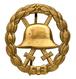 """Orden & Ehrenzeichen: DEUTSCHES REICH; """"Verwundetenabzeichen"""" In Gold (vergoldet) In Der Durchbroche - Germany"""