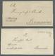 Hannover - Vorphila: 1646-1868, Sammlung In Einem Album Mit 31 Vorphilabriefen Bzw. Markenlosen Brie - [1] Prefilatelia