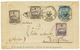 ZANZIBAR : 1899 FRANCE Entier Postal 15c SAGE Obl. LYON Pour ZANZIBAR Taxé à L 'arrivée Avec Timbres Taxes Du Bureau Fra - Zanzibar (1894-1904)