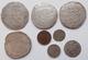 Niederlande: Nettes Lot Mit 8 Münzen, Dabei: Patagon 1625 Vom Philipp IV (KM# 53.1); 2 X Patagon Von - [ 2] 1795-1814 : Protectorat Français & Napoléonien