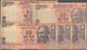 India / Indien: Set Of 5 Miscut Error Notes Of 10 Rupees 1996 P. 87c, 89c, All In Condition: UNC. (5 - India
