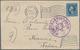 "Lagerpost Tsingtau: Kurume, 1916, Incoming Cover With Contents From ""HONOLULU, HAWAII NOV 17 1916"" T - Kantoren In China"