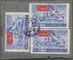 Jemen - Königreich: 1964, 1st Anniversary Of Fighting, 24b. Violet-blue/red, Airmail Stamp Ex Souven - Yemen