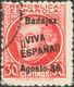 º1. 1936. 30 Cts Carmín. BONITO Y RARO. Edifil 2017: 145 Euros - Unclassified