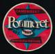 étiquette Fromage Camembert Pomeret 40%mg Rectifié En 45%mg Fabriqué En Bretagne 22-3 Sté Laitiere De L'ouest - Cheese