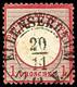 """""""ELLENSERHAM 20/11 10-12 V."""" - K2, Herrlich Klar Und Gerade Auf 1 Gr. Großer Schild, Links Oben Ein Einschnitt Und Etwas - Non Classificati"""