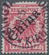 Deutsche Kolonien - Kiautschou-Vorläufer: 1900, Diagonaler Aufdruck 10 Pfg. Rotkarmin, Farbfrisches - Colonie: Kiautchou