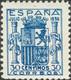 *801. 1936. 30 Cts Azul. Excelente Centraje. MAGNIFICO. Cert. CEM. Edifil 2021: 700 Euros - Unclassified