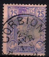Ed175 N° 48 [°]:E9: * CORBION * Sterstempel - 1884-1891 Leopoldo II