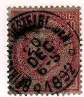 Eg33:N°46:Sterstempel: * BEIRVELDE(DESTELBERGEN) * - 1884-1891 Léopold II