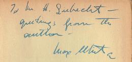 Les Jardins De Minuit - Le Roman De Baudelaire Par Max WHITE (dédicacé Par L´auteur), Hachette, 1950 - Autogramme & Autographen