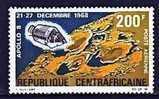 Centrafrique Pa 76 Et Pa 83 Apollo VIII Et Attérissage - Africa