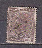 PGL - BELGIE N°19 - 1865-1866 Profil Gauche