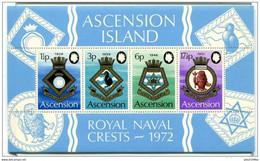Pays :  45 (Ascension : Colonie Britannique)  Yvert Et Tellier N° : Bloc 4 (**) - Ascension