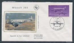 1986 Env 1er Jour Avion Wibault 283- Le Bourget - 1980-1989