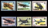 RHODESIA 1978 Vliegtuigen Zegels Mint #464 - Airplanes