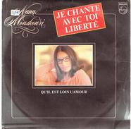 Je Chante Avec Toi Liberté Par Nana Mouskouri - Vinyles
