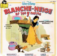 Blanche-Neige Et Les 7 Nains Raconté Par Marie-Christine Barrault Avec Liivret Illustré De 24 Pages - Bambini