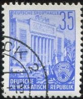 Pays :  24,6 (Allemagne Orientale)   Yvert Et Tellier N° :   129 (o) - Gebraucht