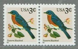 USA PAIR STAMPS BIRD OISEAUX MNH EASTERN BLUEBIRD - Pájaros
