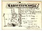 Very Old QSL Card From Torbjörn Falck, Fredriksgatan, Helsingfors, Finland Radio Club Hesa (3/1/1948) - Finlande