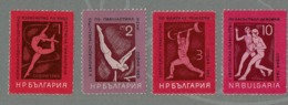 1965 BULGARIE SPORT SERIE TIMBRES MNH ATHLETISME - Atletismo