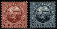Ned 1949 Jubileum Serie Mint Hinged  542-543 #71 - Period 1949-1980 (Juliana)