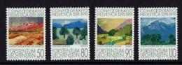 1991 LIECHTENSTEIN SET DE TIMBRES DE PEINTURE NATURE MNH - Modernos